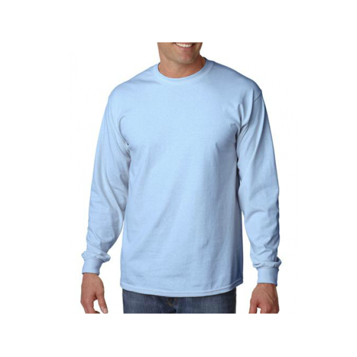 Ultra Cotton 100% Cotton Long Sleeve T-Shirt. 2400