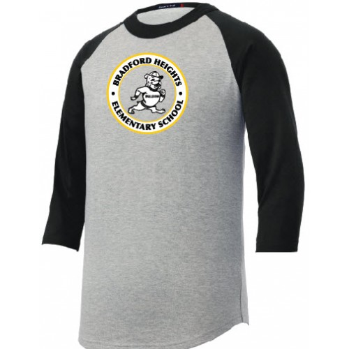 Colorblock Raglan Jersey  Bradford Heights with printed full front