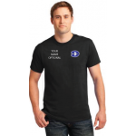 Short Sleeve Adult and Youth T-Shirt with embroidered LC DMS