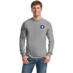 Long Sleeve Adult and Youth T-Shirt with Emboidered DMS Left Chest