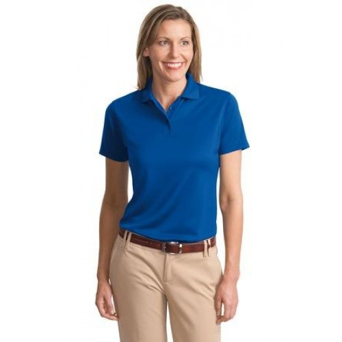 Port Authority Ladies Poly-Bamboo Charcoal Blend Pique Polo. L497