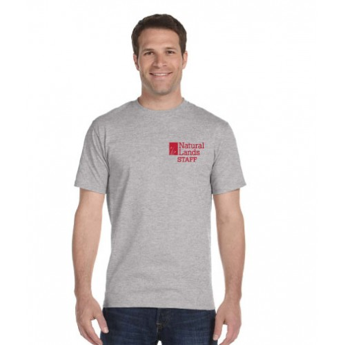 Hanes® Beefy-T® - 100% Cotton T-Shirt With NLT Printed Logo