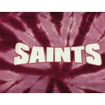 SAINTS TYE DYE SHORT SLEEVE TEES