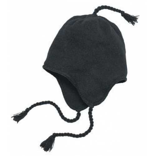 District - Knit Hat with Ear Flaps.  DT604
