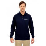 Ash City-Core 365 Men's  Pinnace Performance Long Sleeve Pique Polo