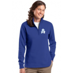 1/4 Zip Sweatshirt in Mens and Ladies sizes, check sizing chart before ordering